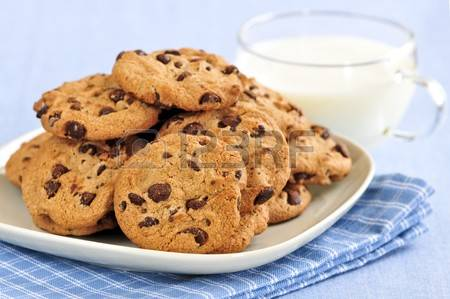 4343751-plate-of-chocolate-chip-cookies-with-milk