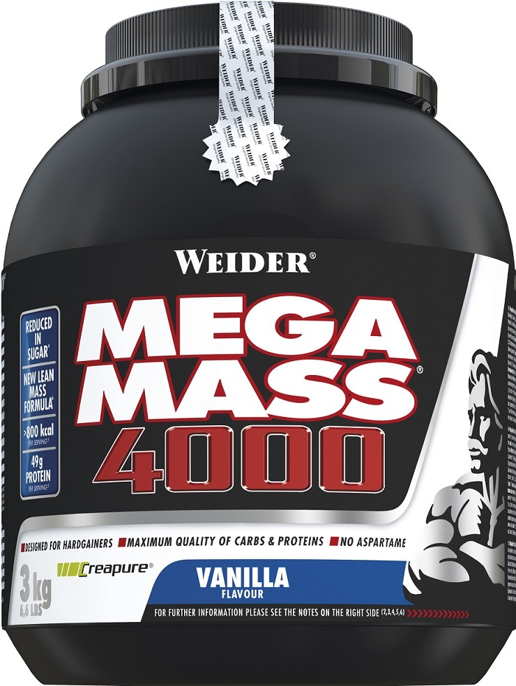 Mega Mass 4000 Gainer - Gainery